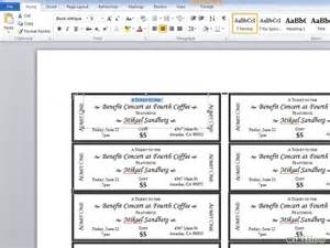 free event ticket templates for word doc 622219 40 free editable raffle ticket
