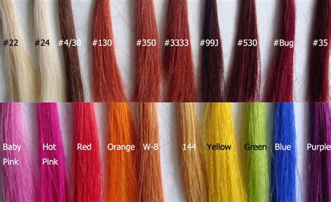 color hair extensions hair extensions types select the appropriate color and