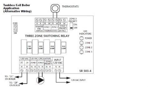 taco wiring diagram taco sr503 with l8124a wiring help doityourself community forums