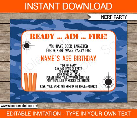 camouflage invitation template camouflage birthday invitations template pavkmhp
