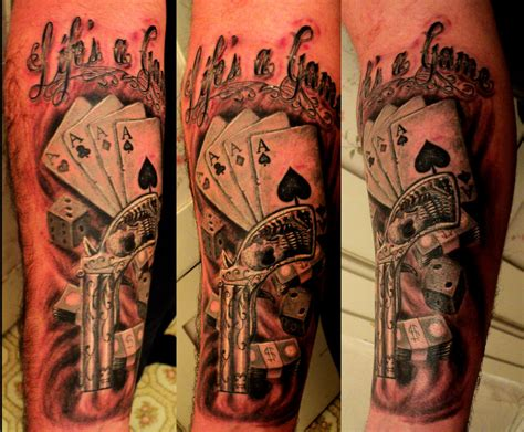 tattoo gambling designs images designs