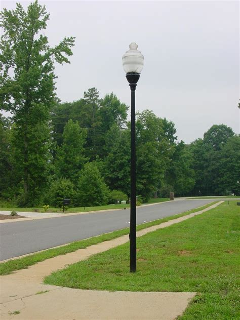 residential outdoor light poles installing outdoor pole lights