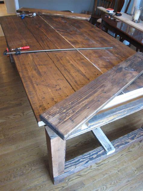 how to make a farmhouse dining table large and beautiful 17 best images about farm tables on pinterest modern