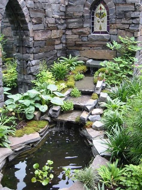 Cool Ideas For Backyard 53 Cool Backyard Pond Design Ideas Digsdigs