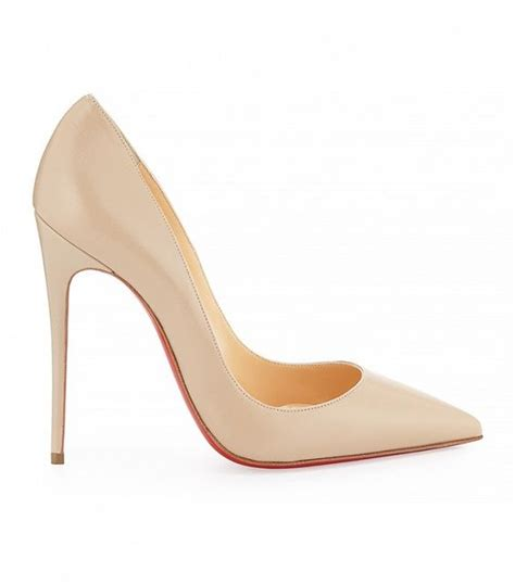 High Heels Gelang Pita Louboutin Salem finding the shade of pumps just got a whole lot easier blush
