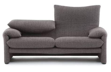 675 maralunga sofa zweisitzer cassina einrichten design de - Sofa Zweisitzer