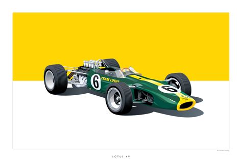 Auto Poster by Iconic Racing Car Posters By Arthur Schening