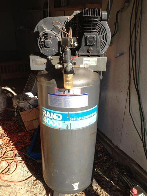 ingersoll rand  hp vertical air compressor  sale