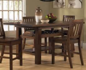 hillsdale outback 7 piece counter height dining set counter height 7 piece dining room table set by standard