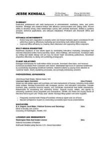 Career Objective For Marketing Resume by Marketing Resume Objective Statements Resume Format