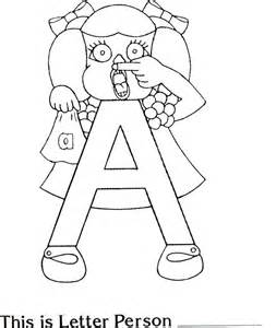 letter people coloring pages az coloring pages