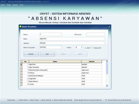 format absensi karyawan perusahaan bisnisbankinternet com bank internet pencetak uang otomatis