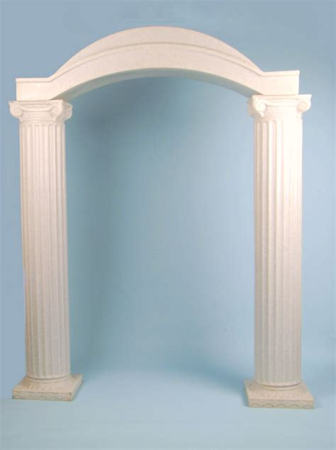 Wedding Arch And Columns granite column resin arch 83 quot hx16 quot dx67 quot w arizona