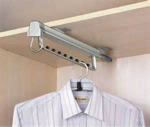 wardrobe pull out clothes hanger premium pull out rail