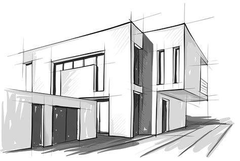 modern house drawing modern house drawing sketch modern house