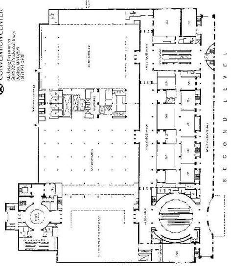 hynes convention center floor plan hynes convention center