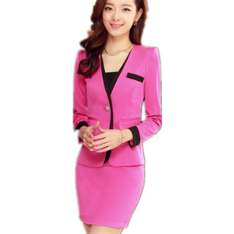 executive suits for working women 2015 m 2xl size skirt suits women 2015 new plus size women