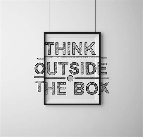 Think Outside Of The Box how geniuses use creative thinking to solve problems