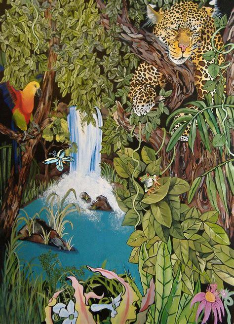 Murals For Bedroom Walls jungle mural