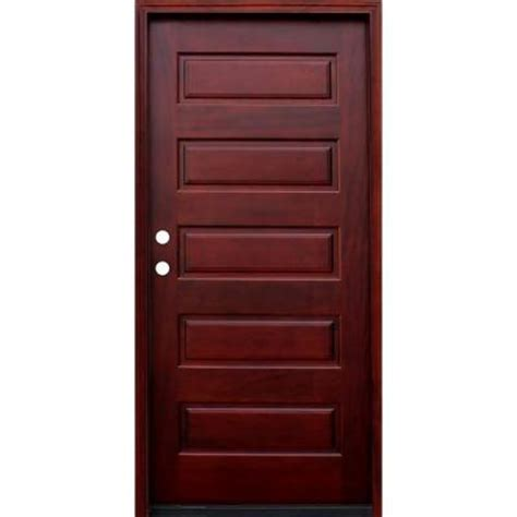 5 Panel Wood Door by Pacific Entries 36 In X 80 In 5 Panel