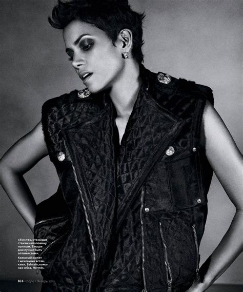 Magazine Bosses Back At Halle Berry by Halle Berry For Instyle Russia 06 Gotceleb
