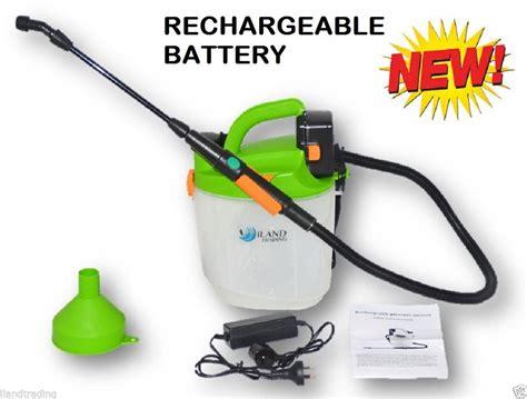 Sale Sprinkler Taman Garden Sprayer 5l rechargeable sprayer garden spray unit additional battery 12v 240v ebay
