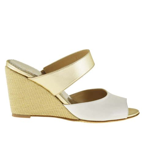 comfortable mules woman comfortable open mules shoes with fabric wedge in
