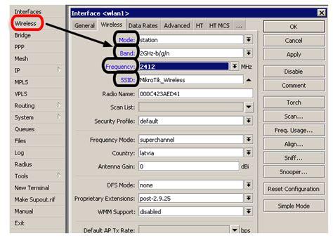 Wifi Router Mikrotik lintas mikrotik mikroti wireless ap client