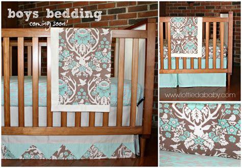 rustic nursery bedding deer baby boy bedding modern rustic antler design by
