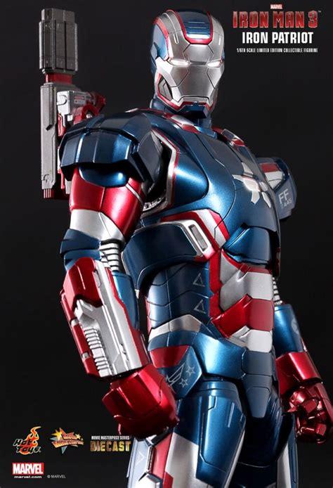 Ironman Figure Iron Patriot 1 examining toys sideshow s iron 3 war machine and iron patriot figures ign