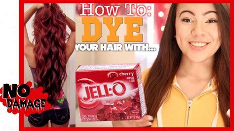 how to dye your hair with brown on the top half and blonde on bottom half how to dye your hair with jell o youtube