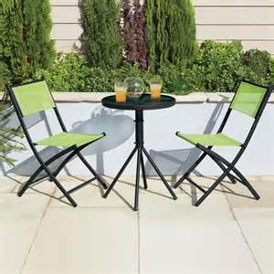 Lime Green Bistro Table And Chairs Lime Tropical Two Seat Bistro Set Dunelm