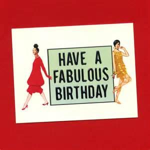 a fabulous birthday birthday card birthday card by seasandpeas