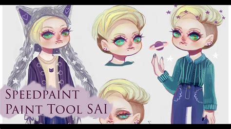 paint tool sai fan made speedpaint paint tool sai fan fanart