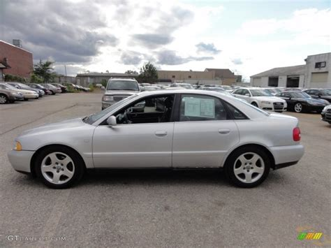 2000 audi a4 sedan light silver metallic 2000 audi a4 2 8 quattro sedan