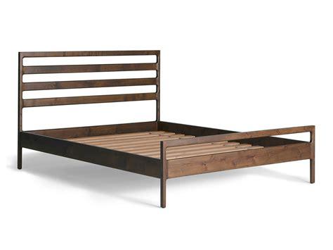 Handmade Wooden Bed Frames Handmade Wood Bed Frame Parachute