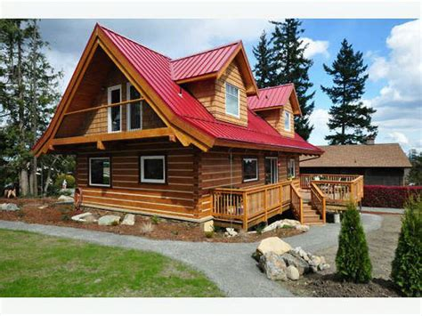 Cottages In Kelowna by Affordable Log Homes Cabins Cottages Outside Okanagan