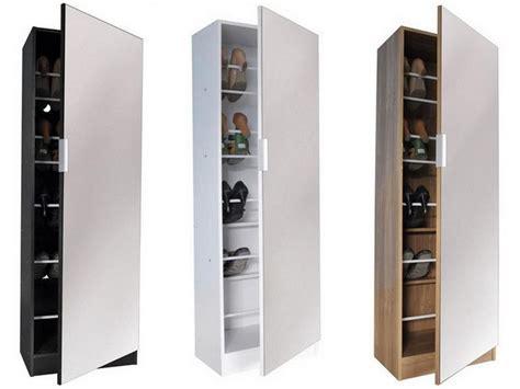 shoe storage with mirror mirrored shoe storage cabinet oak finish doubly useful