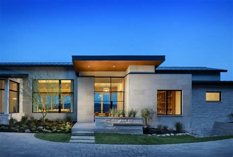 Modern Home Design Usa House On The Hill By D Larue Architecture Design