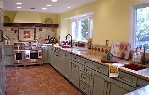 houzz country kitchens tuscan country kitchen eclectic kitchen by rjk