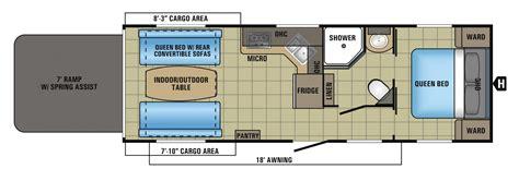 hauler travel trailer floor plans hauler floor plans 28 images xlr hyperlite travel