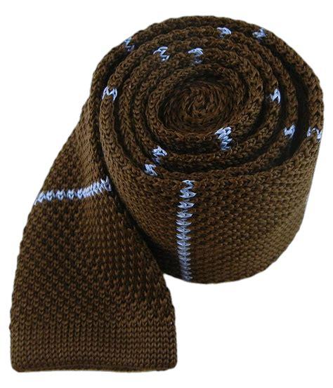 brown knit tie brown knit stripe tie ties bow ties and pocket squares