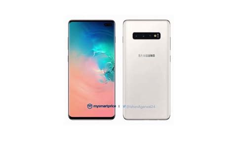 galaxy s10 luxurious ceramic white edition shown android community