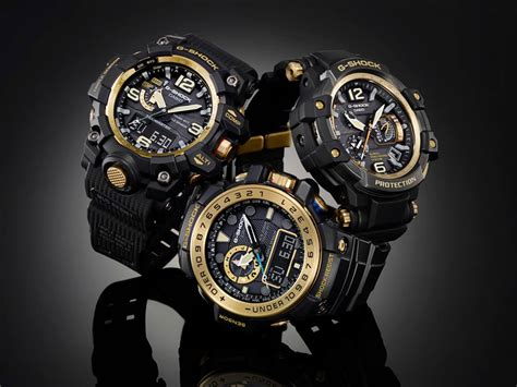 Jam Tangan Casio G Shock Wr20bar g shock master of g black and gold series 1 casio news parts