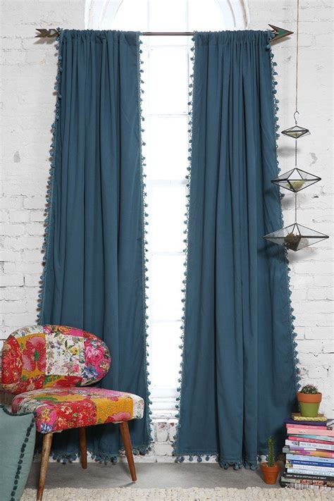 Plum And Bow Curtains Plum Bow Blackout Pompom Curtain Outfitters The Shire Pinterest Outfitters