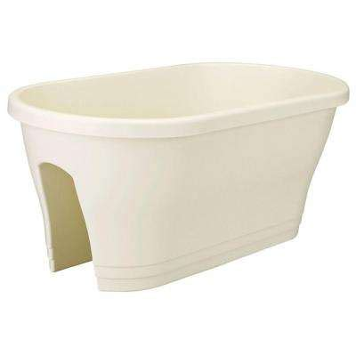 white plastic railing planters pots planters the