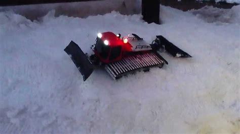 gatto delle nevi in the panchine gatto delle nevi telecomandato