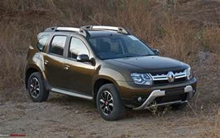 Renault Duster 2016 Renault Duster Facelift Amt Automatic Official Review Team Bhp