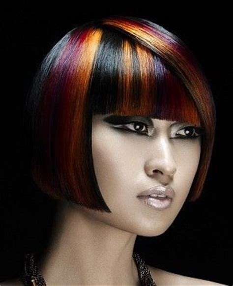 Hairstyles With Color Panels | 112 best images about its all about the doo on