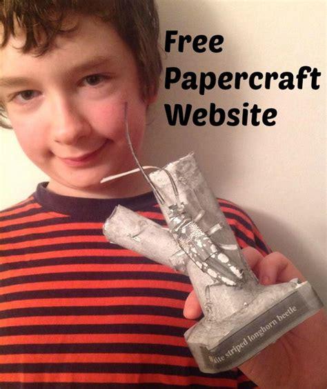 Papercraft Websites - free papercraft website eclectic homeschooling